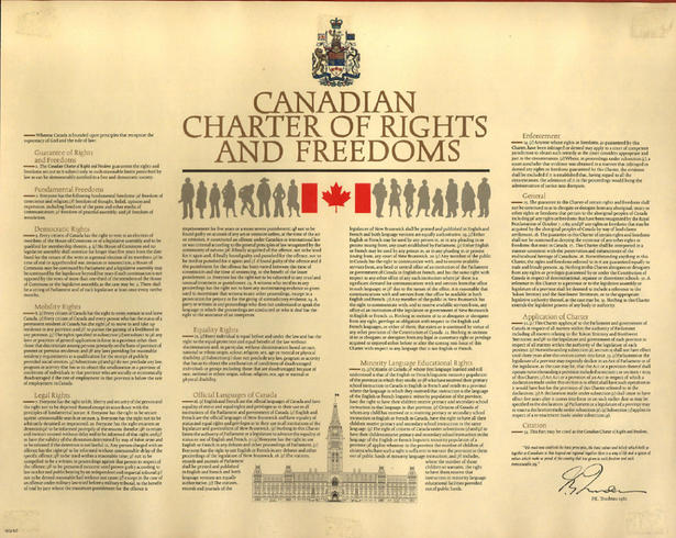 The Canadian Charter of Rights and Freedoms: An Integral Part of our Constitution