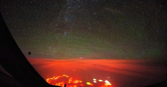 Misteri Cahaya Merah Di Lautan Samudera Pasifik