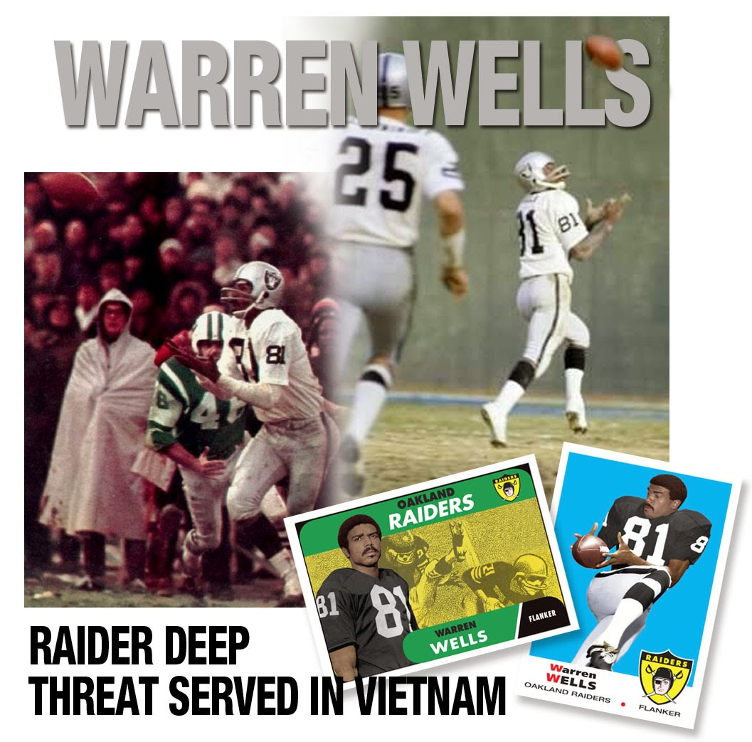 Oakland raiders vietnam veteral NFL Hall Of Fame