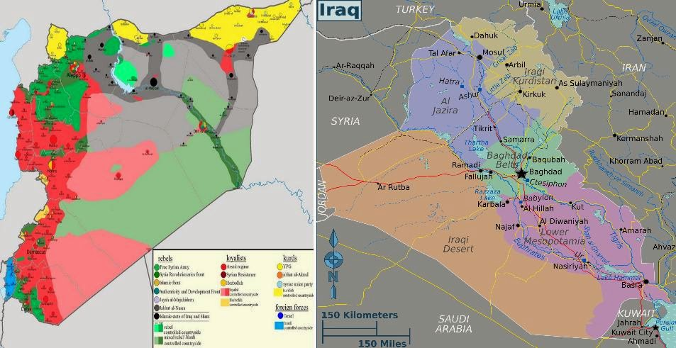 PomoNewscom MAPS SYRIA AFTER THE CEASEFIRE