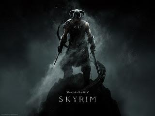 Skyrim wallpaper - Dovahkiin