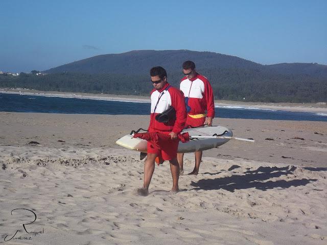Los vigilantes de la playa. galicia