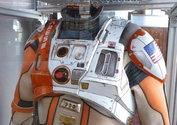 The Martian NASA astronaut spacesuit