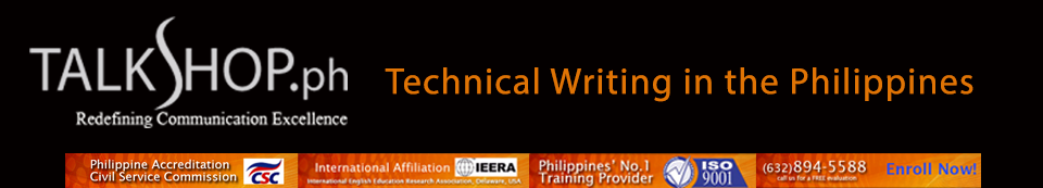 Technical Writing in the Philippines