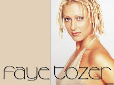 Sexy Singer Faye Tozer Wallpaper