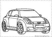 Suzuki Concept coloring page