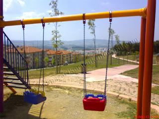 Korucuk Park tepe çocuk parkı