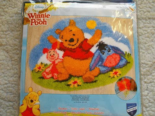 winnie the pooh and friends latch hook