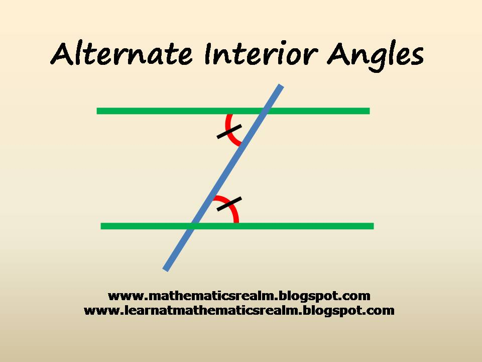 Alternate Interior Angles In Triangles Pictures To Pin On Pinterest Pinsdaddy