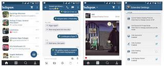 BBM Mod Tema Instagram Versi 2.9.0.51 Apk
