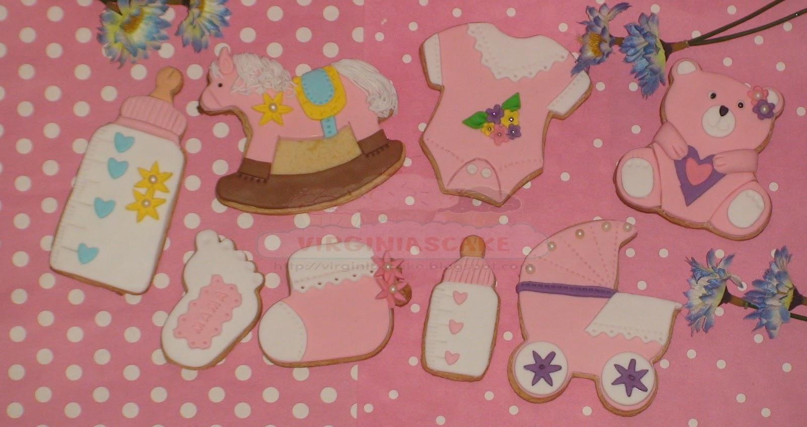 Tartas y Galletas decoradas con fondant, Infantiles