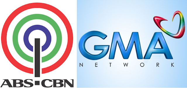 ABS-CBN vs GMA 7 logo