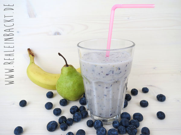 Blueberry Dream Smoothies | Foodblog rehlein backt