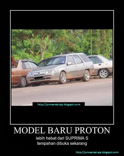 MODEL BARU PROTON