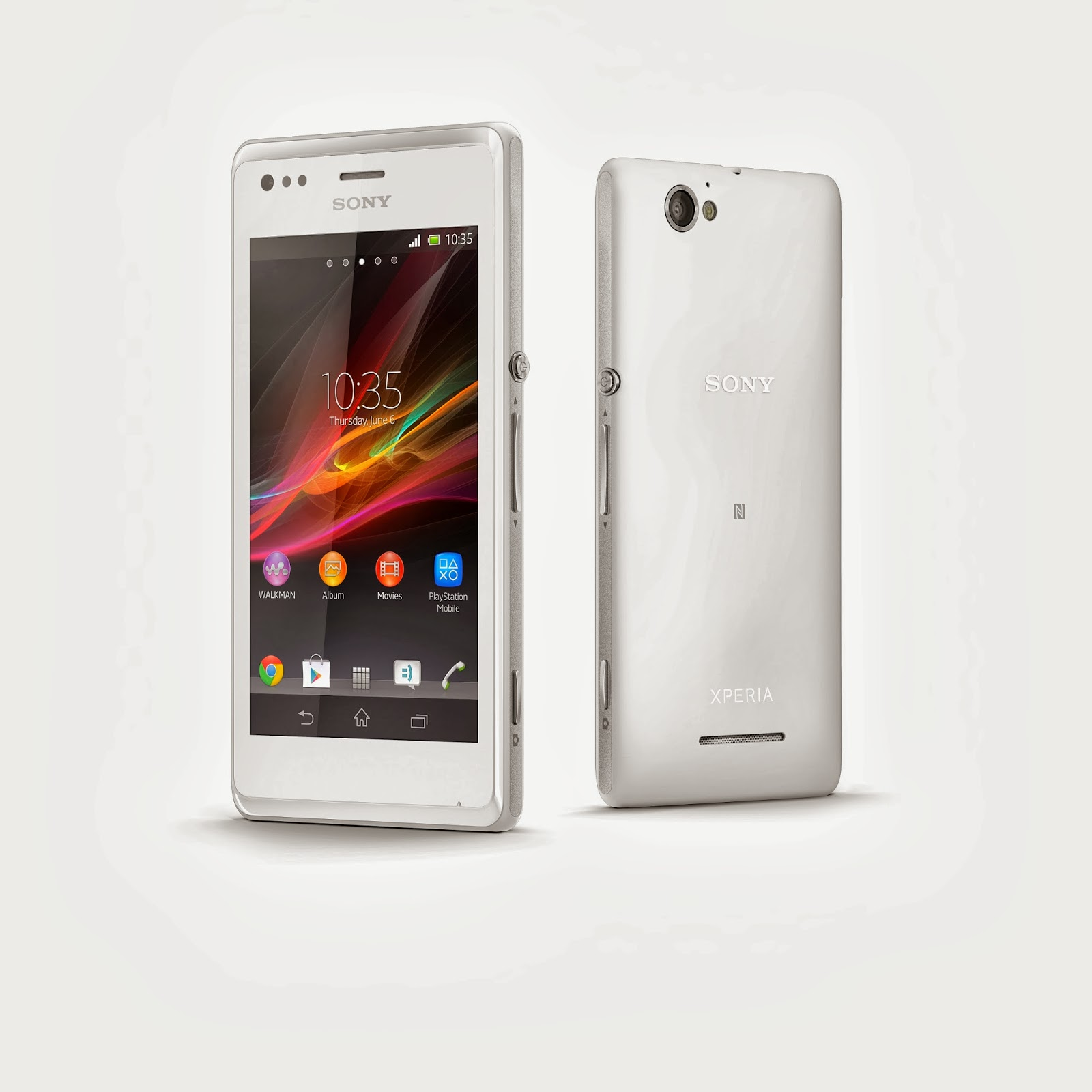 Xperia M Specification 4-inch Dual SIM Sony X...