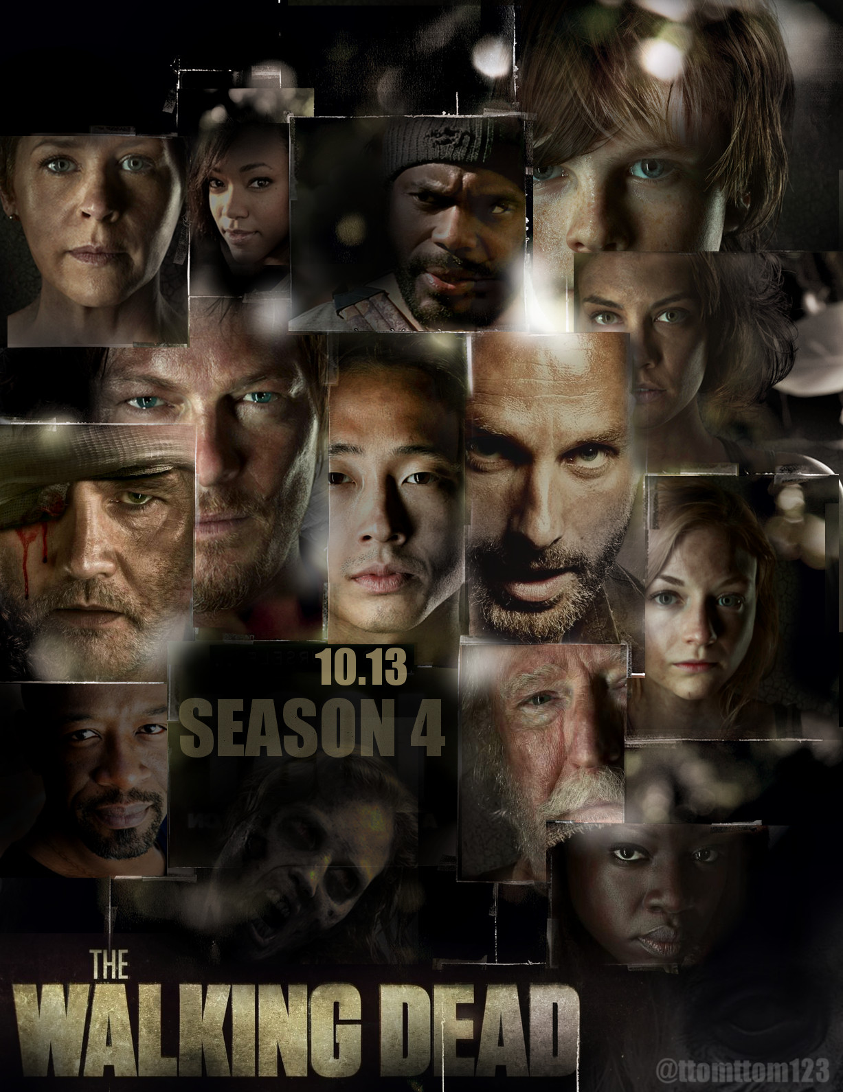 xem phim Xác Sống 4 2013 - The Walking Dead Season 4 full hd vietsub online poster