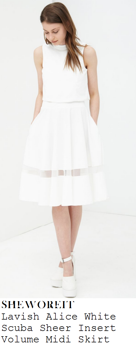 jessica-wright-white-sheer-panel-stripe-full-midi-skirt