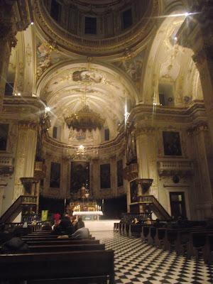 Interior catedral de Bérgamo
