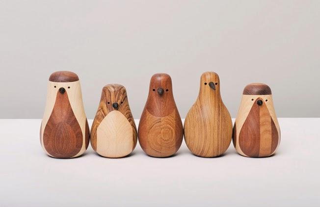 Muñecos de madera