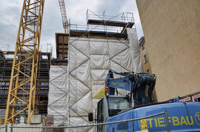 Baustelle Wohnhaus, Bernauer Straße / Strelitzer Straße, 13355 Berlin, 15.06.2013