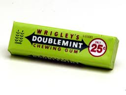 Permen karet wrigley's doublemint adalah produk komersil pertama yang menggunakan Bar Code