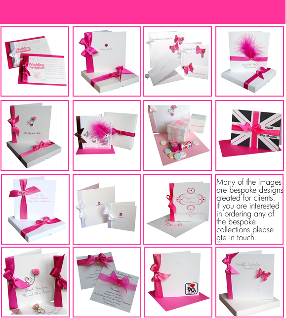 Pink Wedding Stationery