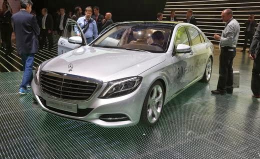 2015 Mercedes-Benz S500 Hybrid