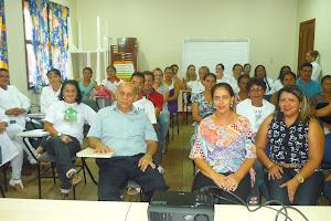 Prefeito de tartarugalzinho Almir Rezende e a secretaria de saude Marlene Emília do Carmo Rezende