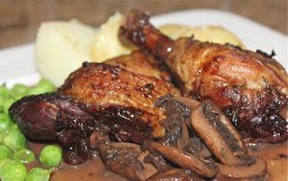 Chicken & mushroom casserole