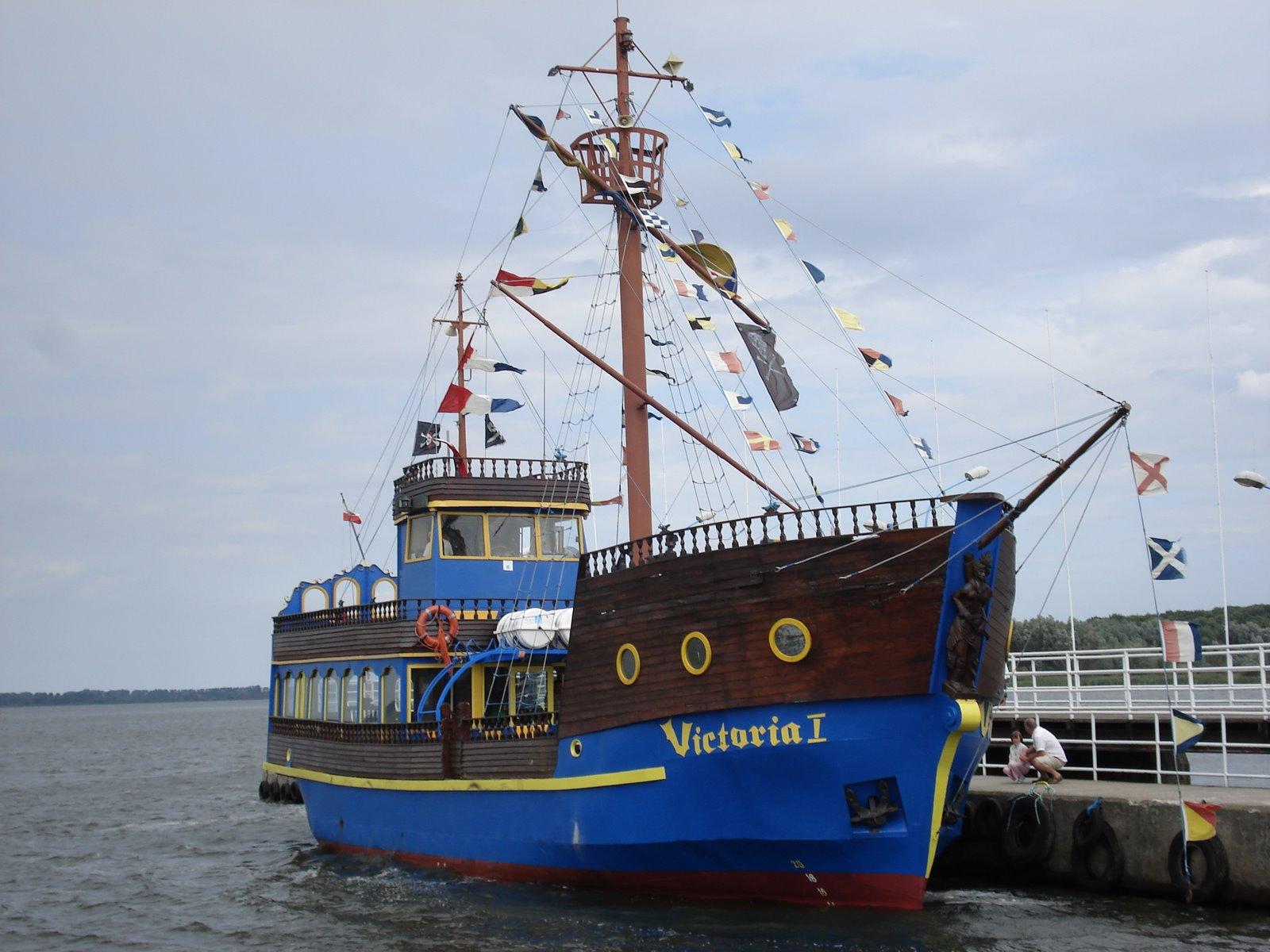 victoria, statek, Dziwnów