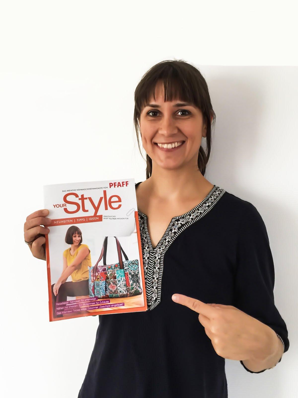 Meine Reisetasche im Pfaff Magazin mit Anleitung