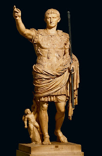 Augusto de Prima Porta. Museos Vaticanos, Roma.