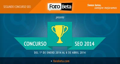 Seovolución  Reglas del Concurso SEO de ForoBeta 2014