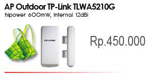 TL-WA5210G 2.4GHz High Power Wireless Outdoor CPE