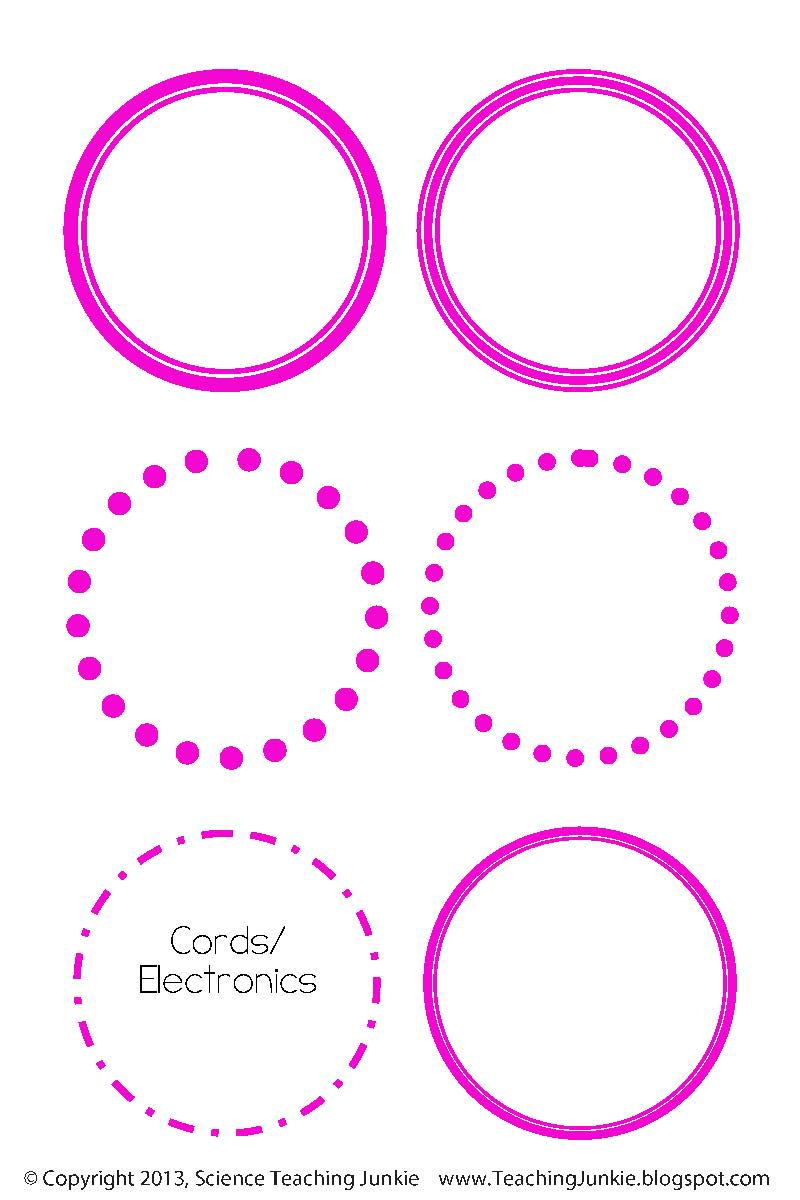 ... Inc.: Office Organization and Printable/Editable Round Labels FREEBIE