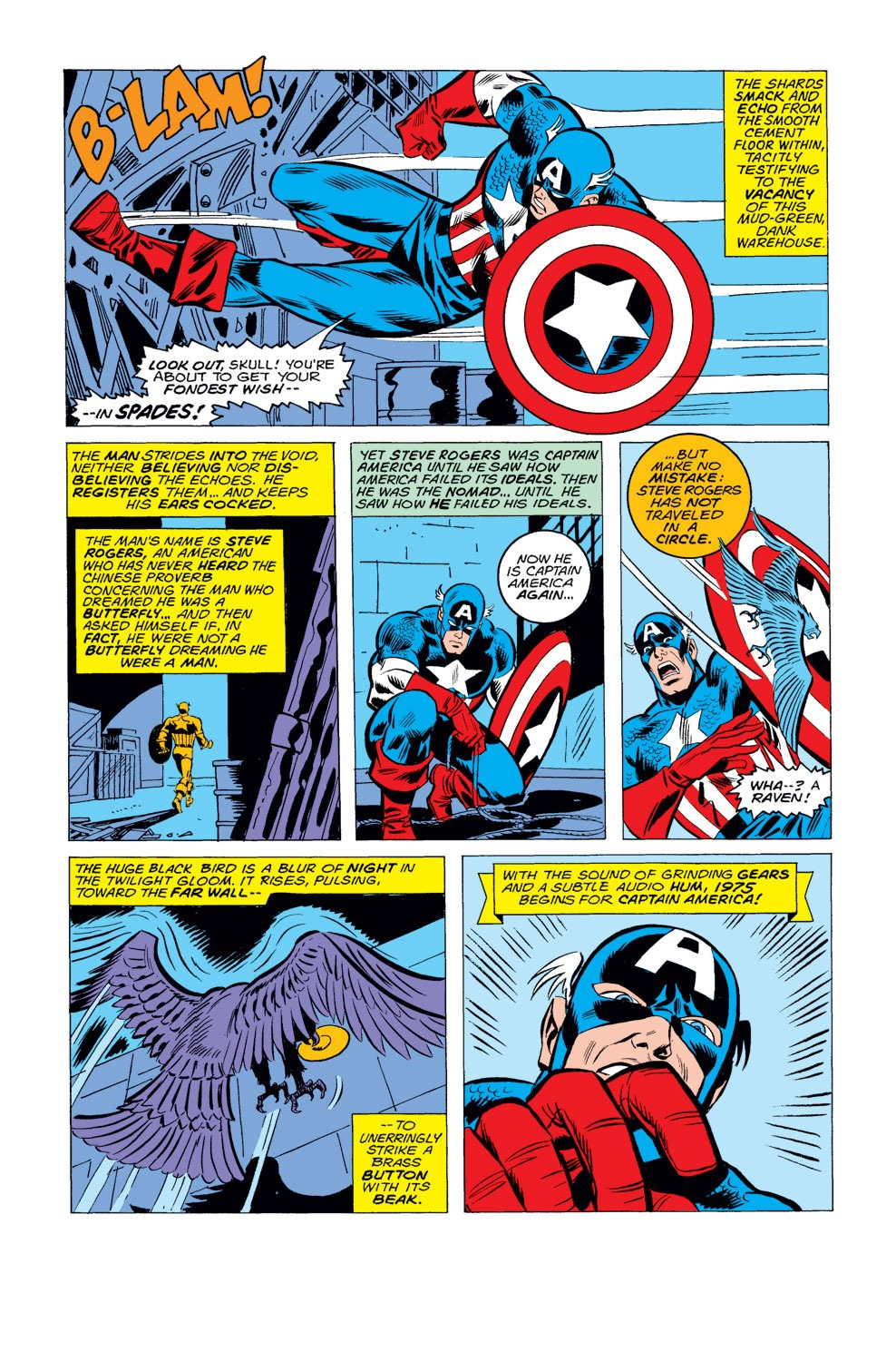 Captain America (1968) Issue #184 #98 - English 3