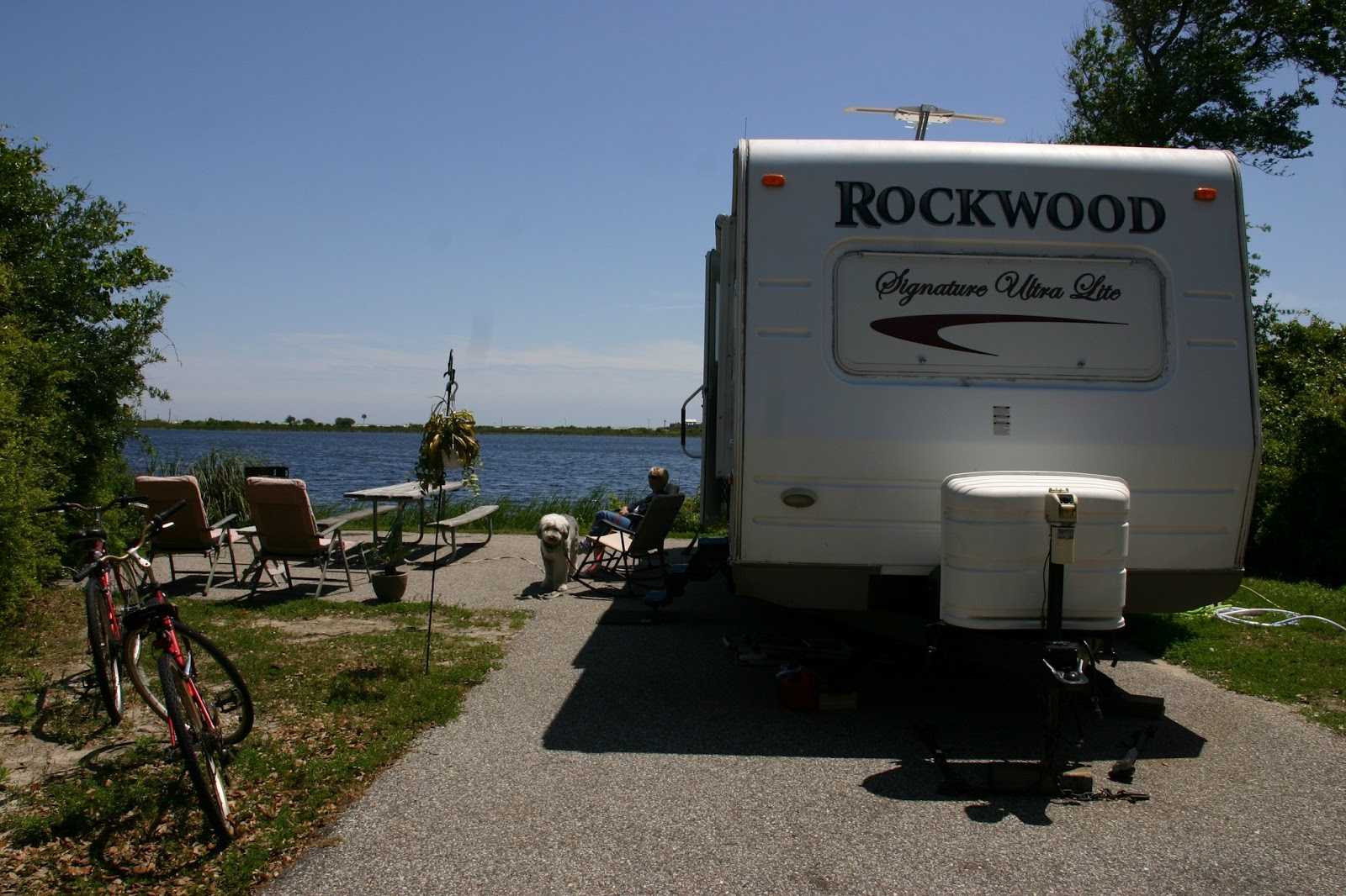 Our Lakefront Campsite At Gulf State Park