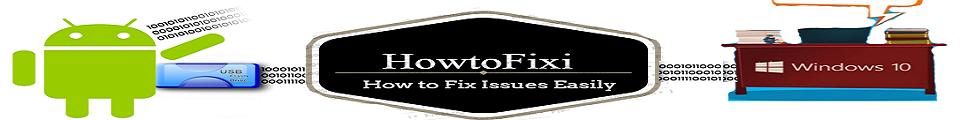 HowtoFixI