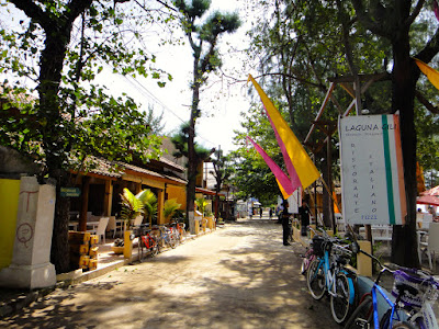Main Road at Gili Trawangan