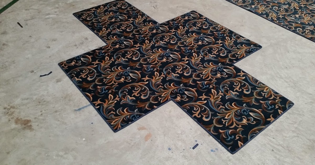From a floor mans perspective easy custom size area rugs for Easy rugs