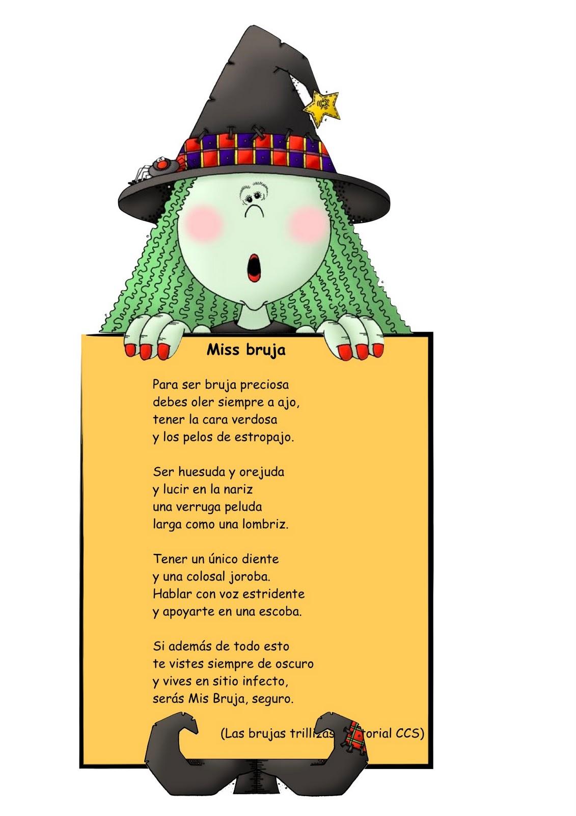 Poemas De Halloween Para Ninos En Espanol