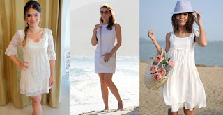 vestido branco para passar o reveillon na praia 2015 - dicas e fotos