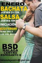ENERO: BACHATA Y SALSA INICIACIÓN LOS JUEVES EN BSD INTENSIVOS LATINOS DE INICIACIÓN