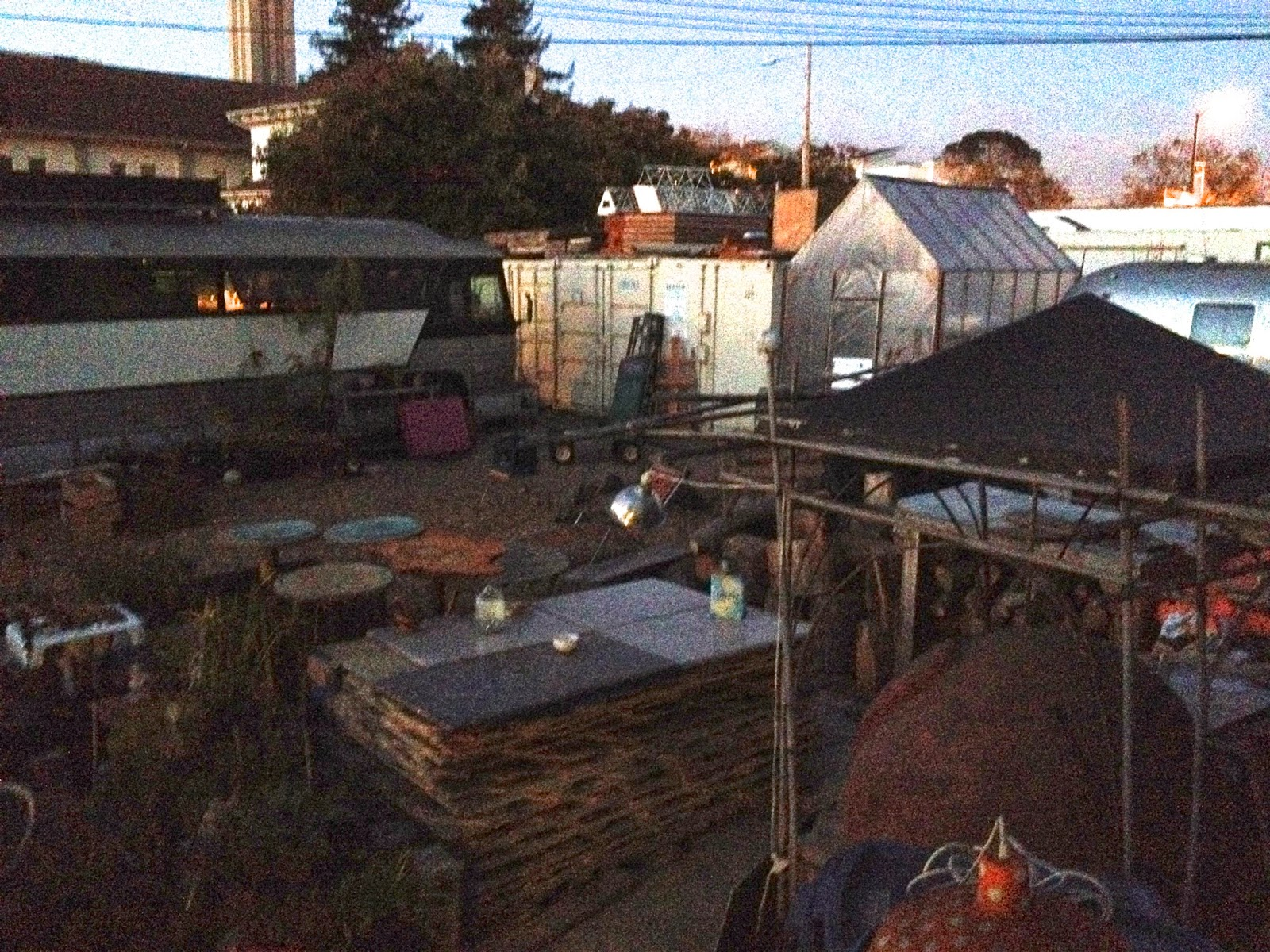 Good I Was Delighted To Present My Talk At A Place For Sustainable Living In  Oakland, CA This Week. The Compound That Had Been A Parking Lot But Has  Since Been ...