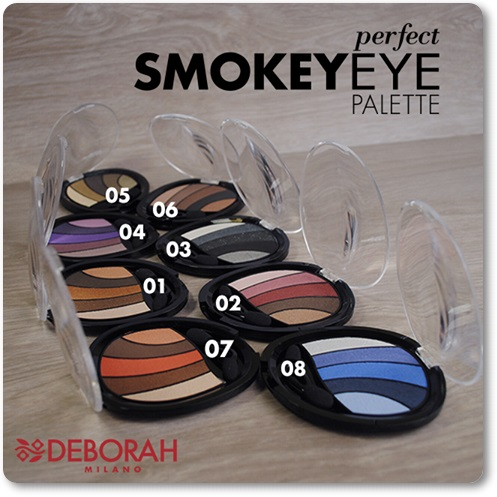 Deborah Milano - Paletas Perfect Smokey Eye