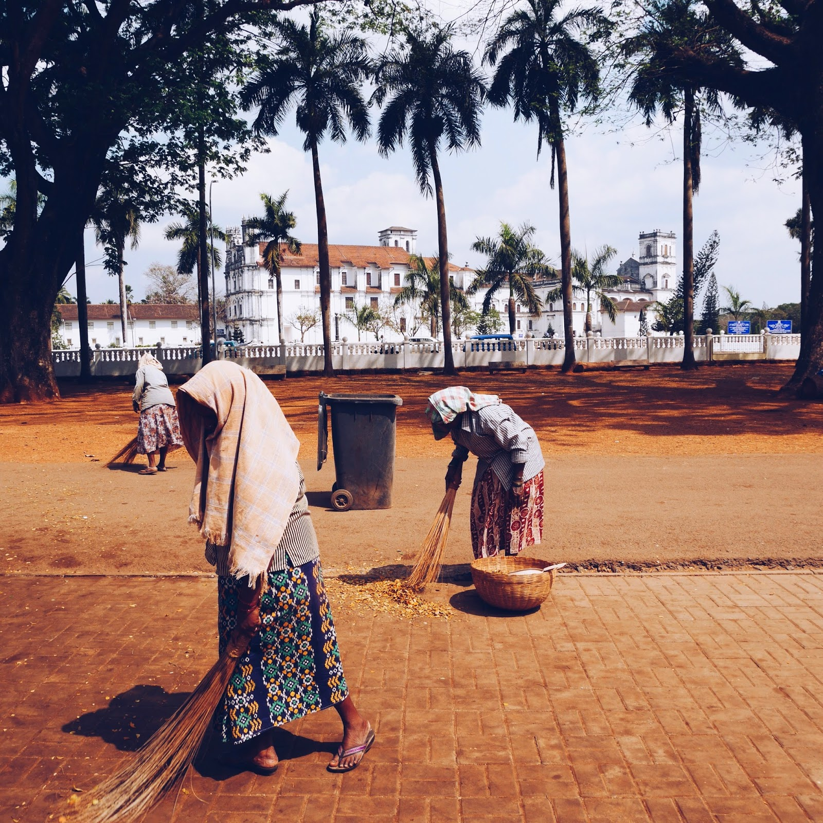 Old Goa Street Sweepers