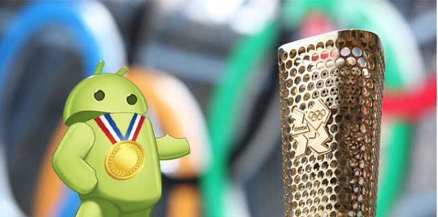 android and olympics 2012