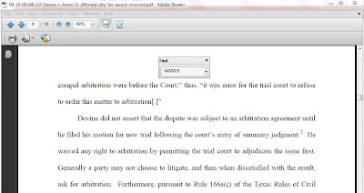 Opinion excerpt from 09-10-00166-CV Devine v. Amex