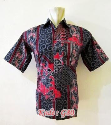 kemeja batik formal