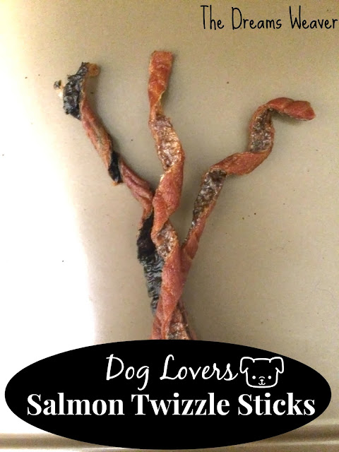 Dog Lovers Salmon Twizzle Sticks~ The Dreams Weaver